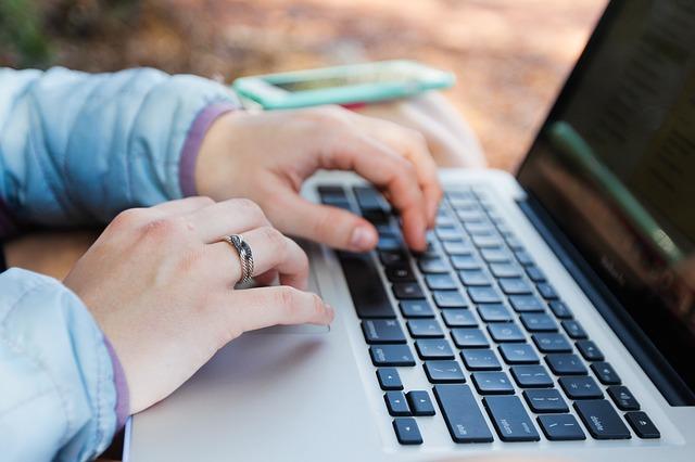 spravování účtu přes počítač