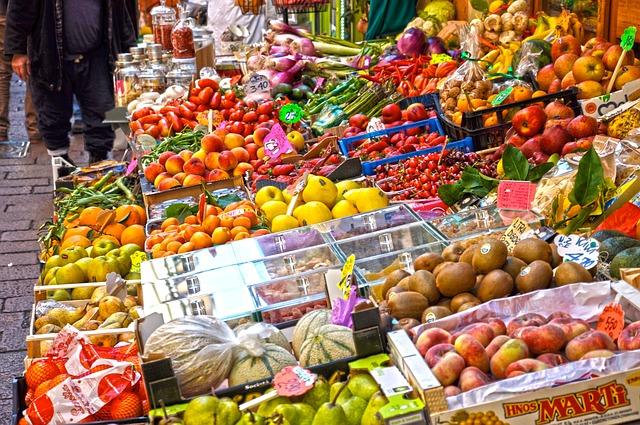 čerstvé plody