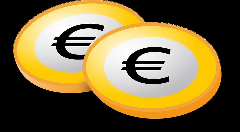 kreslená eura