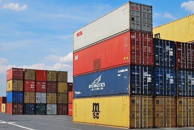 lodni kontejnery